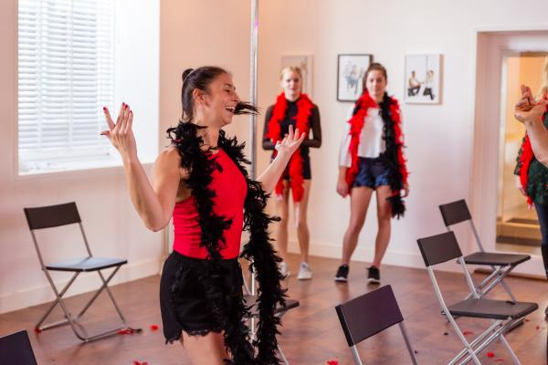 Burlesque Workshop in Turnhout